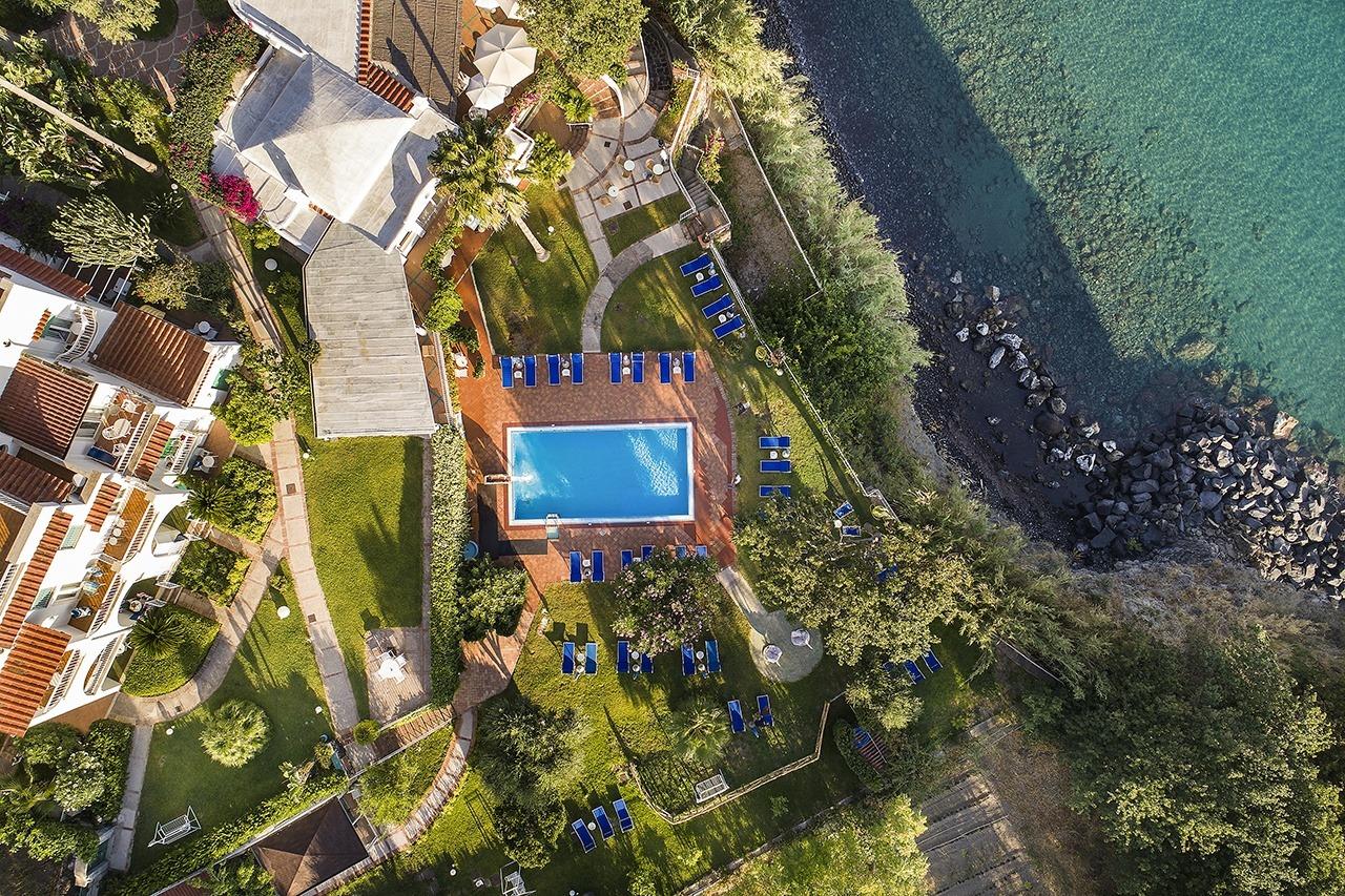 Hotel Continental Mare visto dall'alto